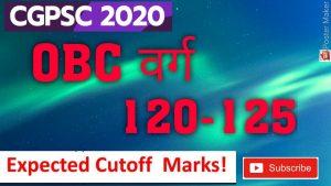 cgpsc cut off marks 2019 2020