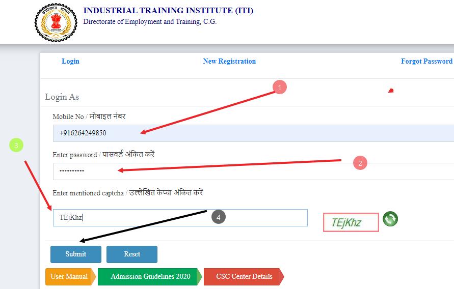 http://cgiti.cgstate.gov.in/online-application-2020