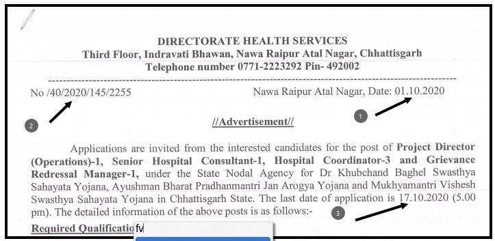 DKBSSY CG Vacancy 2020 DKBSSY Chhattisgarh Recruitment 2020: Dr. Khubchand Baghel Health Support Scheme