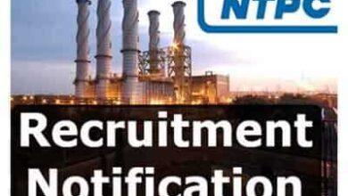 Photo of NTPC Recruitment 2021 राष्ट्रीय ताप विद्युत निगम भर्ती, 280 पदों के लिए भर्ती