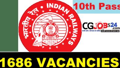 Photo of Southern Railway Apprentice Jobs Bharti 2021 | दक्षिण रेलवे में 1686 अपरेंटिस पदों पर भर्ती